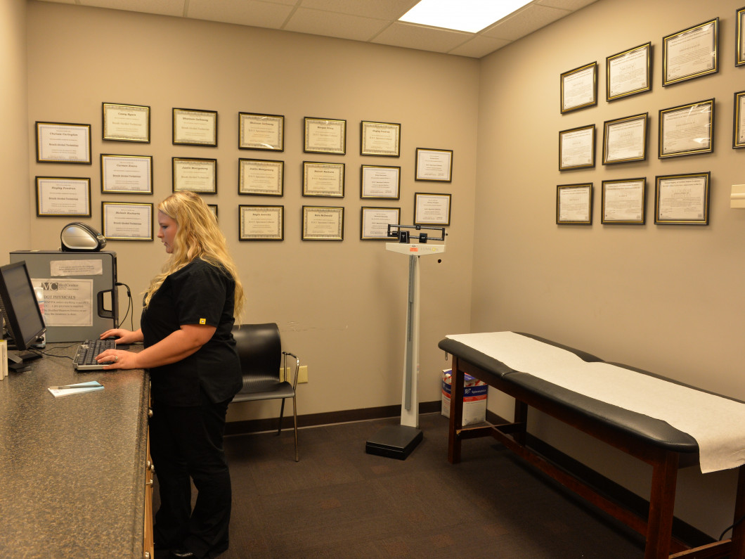 Find an Occupational Medicine Clinic in Northport, Tuscaloosa, Demopolis, Hoover or Fayette, AL