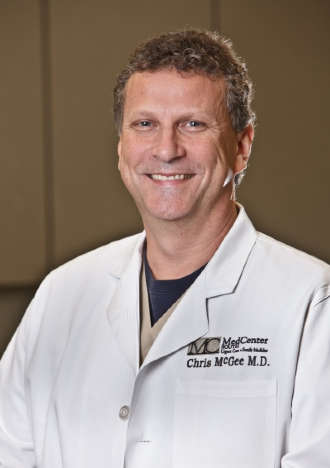 CHRISTOPHER MCGEE, M.D.